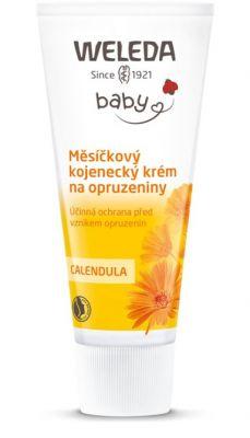 WELEDA Měsíčkový kojenecký krém na opruzeniny 30 ml