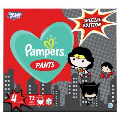 PAMPERS Plenkové kalhotky Pants vel. 4, 72 ks, 9-15 kg Warner Bros LTD