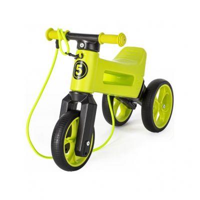 TEDDIES Odrážedlo Funny wheels Rider Super Sport zelené 2v1 18 m+