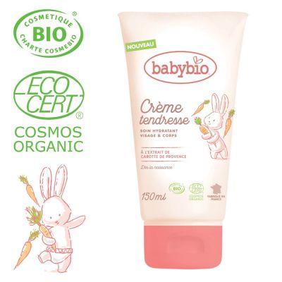 BABYBIO Hydratační BIO krém pro miminka od narození 150 ml