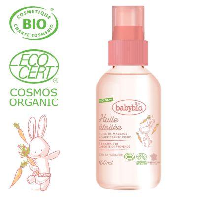 BABYBIO Masážní BIO olejíček pro miminka od narození 100 ml