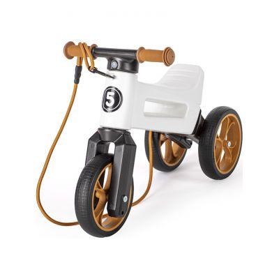 TEDDIES Odrážedlo FUNNY WHEELS Rider SuperSport bílé 2v1
