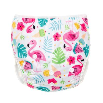 T-TOMI Plenkové plavky, flamingo
