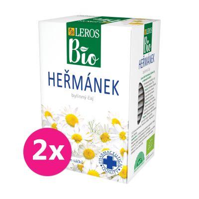 2x LEROS BIO Čaj Heřmánek