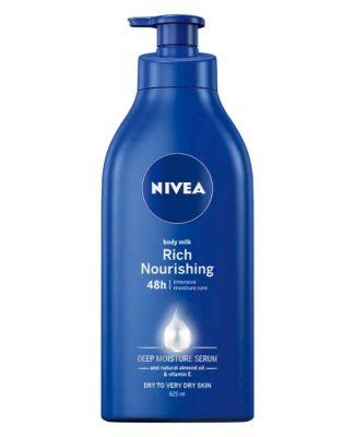 NIVEA Mléko výživné tělové Body Milk 625 ml