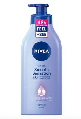 NIVEA Mléko krémové tělové Smooth Sensation 625 ml