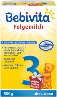 BEBIVITA 3 (500 g) - dojčenské mlieko