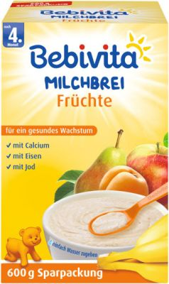 BEBIVITA Ovocná (600 g) - mliečna kaša