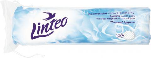 LINTEO Satin kosmetické odličovací tampóny 100 ks (Feedo klub)