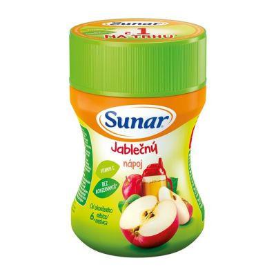 SUNAR Jablčný rozpustný nápoj - dóza (200 g)