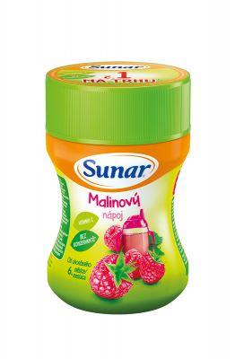 SUNAR Malinový rozpustný nápoj (200 g) - dóza