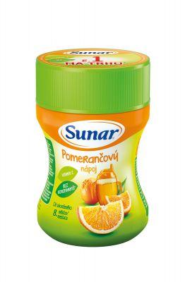 SUNAR Pomerančový rozpustný nápoj (200 g) - dóza