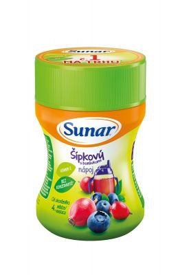 SUNAR Dobré ráno šípek, borůvka rozpustný nápoj (200 g) - dóza