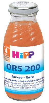HIPP ORS 200 Mrkvovo rýžový odvar 200ml