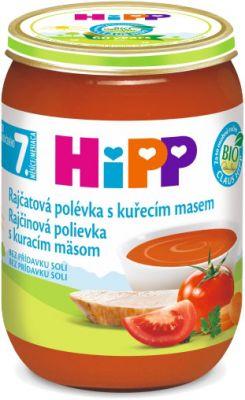 HIPP BIO Rajčatová polévka s kuřecím masem (190 g)