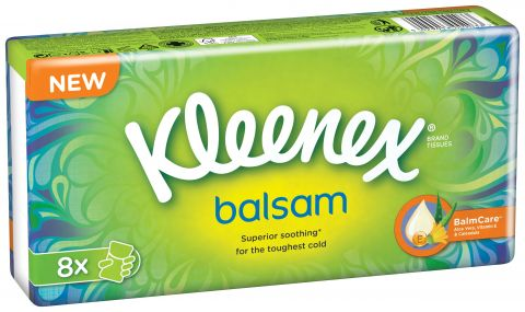 KLEENEX Chusteczki higieniczne BALSAM 8 szt.