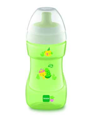 MAM Hrnek Sports cup 330 ml, 12m+  zelený