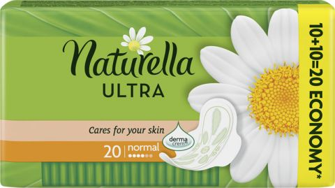 NATURELLA Camomile Ultra Normal, 20ks – vložky