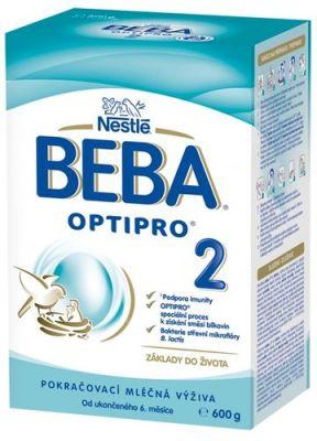 BEBA OPTIPRO 2 (600 g) - kojenecké mléko