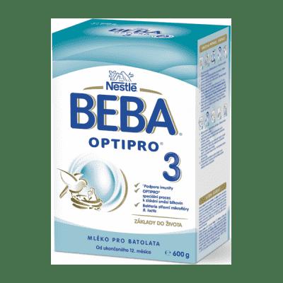 BEBA OPTIPRO 3, Mléko batolecí 600 g