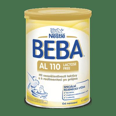 BEBA AL 110 (400 g) - dojčenské mlieko