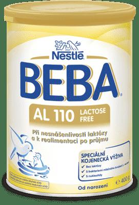 NESTLÉ BEBA AL 110 (400 g) - mliečna výživa