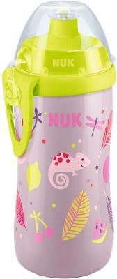 NUK FC Láhev PP Junior Cup 300 ml, push-pull pítko (fialová)
