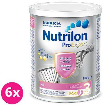 6x NUTRILON ProExpert 3 HA (800g) - dojčenské mlieko