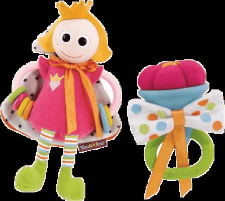 YOOKIDOO Královské chrastítko – princezna