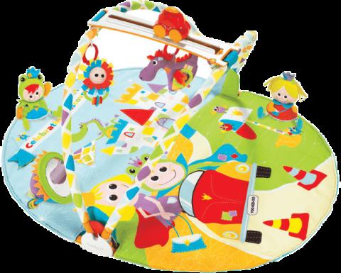 YOOKIDOO Hracia deka s hrazdou