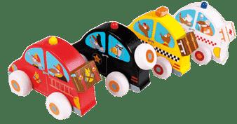 SCRATCH Dřevěné autíčko