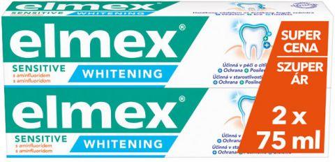 ELMEX Sensitive Whitening duopack 2x75 ml Zubní pasta