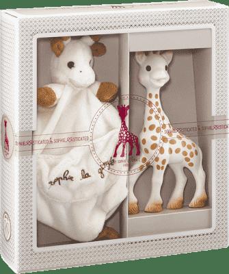 VULLI Mój pierwszy zestaw prezentowy żyrafa Sophie i przytulanka