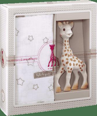 VULLI Môj prvý darčekový set žirafa Sophie a zavinovačka