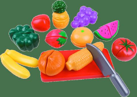 TEDDIES Owoce i warzywa do krojenia plastikowe