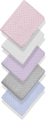 INTERBABY deka extra mäkká guličky 80x110 - fialová