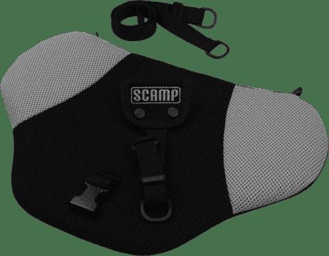 SCAMP Bezpečnostní pás pro těhotné – Černo / šedý
