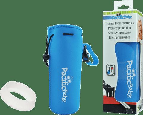 PACIFIC BABY Termoopakowanie + osłona butelki Niebieski