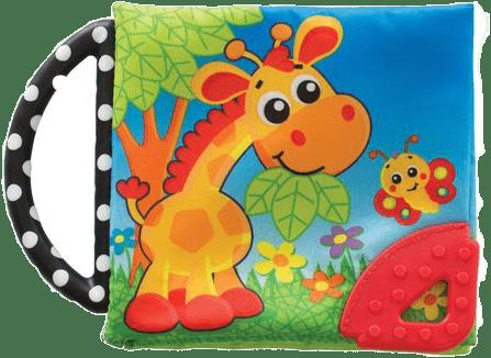 PLAYGRO Hryzacia knižka so zvieratkami