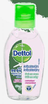 DETTOL Antibakteriální gel na ruce s heřmánkem (50 ml)