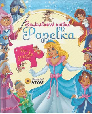 KNIHA Skladačková knižka - Popoluška