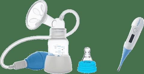 BABY ONO Odsávačka mateřského mléka manuální + teploměr digitální