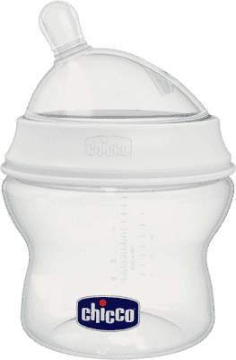 CHICCO Natural Feeling butelka 150ml 0m+