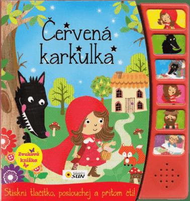KNIHA Zvuková knižka - Červená čiapočka