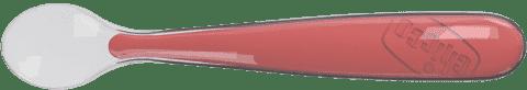 CHICCO Lžička silikon Soft 6+, červená