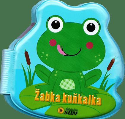 KNIHA Kamaráti do vane - Žabka kuňkalka
