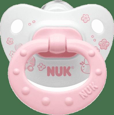 NUK Dudlík Classic růžový, silikon, vel.2 (6-18m.)