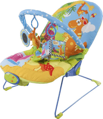 SUN BABY Dziecięcy leżaczek – Dinosaur world