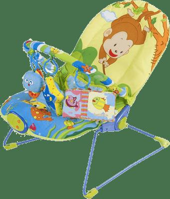 SUN BABY Dziecięcy leżaczek – Monkey
