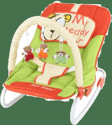 SUN BABY Detské ležadlo Safari - Bear